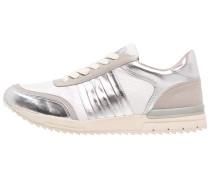 Sneaker low silver/grey/white