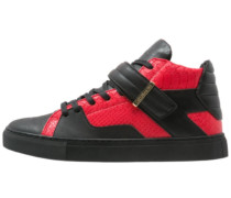 SASHIMI Sneaker high vintage black/red/gold