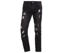 KOOP Jeans Slim Fit stone black