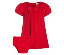 SET Freizeitkleid modern red