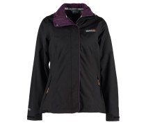 CIRRO 3 IN 1 Outdoorjacke black/blackberry