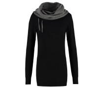 Strickpullover - black/grey