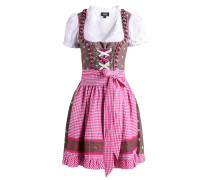 ADELHEID SET - Dirndl - rose