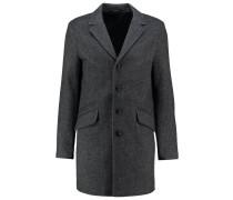 ONSOTTO Wollmantel / klassischer Mantel medium grey melange