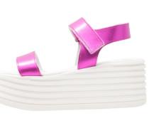 WOBBLE - Plateausandalette - pink