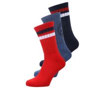 3 PACK Socken  red