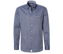 SLIM FIT Hemd dunkelblau