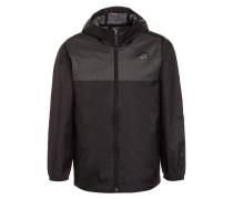ZIPLINE Regenjacke / wasserabweisende Jacke black