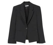 SATIN - Blazer - black