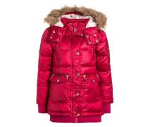 Wintermantel pink