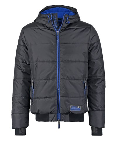 superdry herren superdry winterjacke black cobalt reduziert. Black Bedroom Furniture Sets. Home Design Ideas