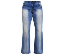 ANNA Flared Jeans blue denim