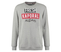 MERLO Sweatshirt light grey melanged