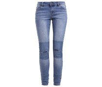 VMFIVE Jeans Slim Fit medium blue denim