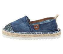 Espadrilles - dark denim