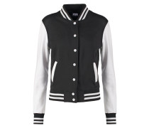 Leichte Jacke black/white