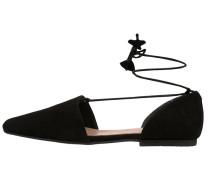 PAN - Riemchenballerina - black