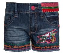 FERNAN - Jeans Shorts - azul