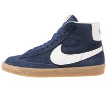 BLAZER - Sneaker high - binary blue/ivory/light brown/black/team orange
