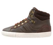 Sneaker high brown/black