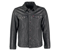 THE TRUCKER Jeansjacke black