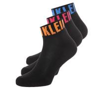 3 PACK Socken black