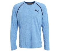 Langarmshirt electric blue/lemonade heather