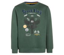 Sweatshirt dunkelgrün