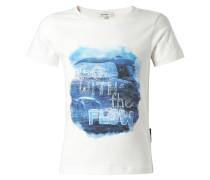 EASLEY - T-Shirt print - off white