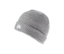 Mütze dark grey heather/white