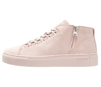 Sneaker high dusty rose
