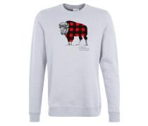 CHECK Sweatshirt grey heather