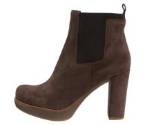 UCHE - High Heel Stiefelette - braun