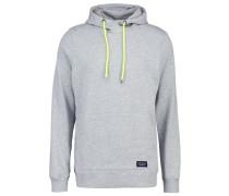 LINUS - Kapuzenpullover - light grey melange