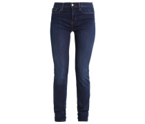 HIGH RISE SKINNY Jeans Slim Fit dark blue denim