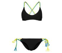 Bikini - black/yellow/mint