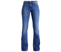 SKINNY FLARE Flared Jeans worn pacific