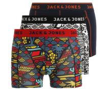 JACPAUL 3 PACK Panties black