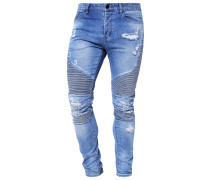 Jeans Slim Fit - distressed light blue