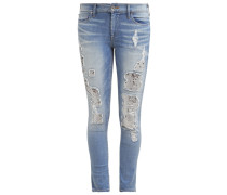 HALLE Jeans Slim Fit sea glass