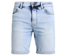 Jeans Shorts - bleached denim