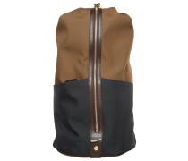 CARPET Tagesrucksack sepia/navy/dark brown