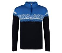 ST. MORITZ - Strickpullover - navy/sochi blue/cobalt/off white