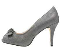 COULANGES High Heel Peeptoe pewter