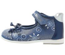Riemchenballerina bleu