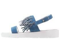 Riemensandalette - blue