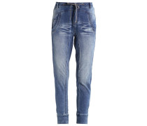 MIA Jogginghose medium blue denim