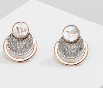 Ohrringe - silver-coloured/ rose gold-coloured