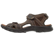 PIER Trekkingsandale dark brown