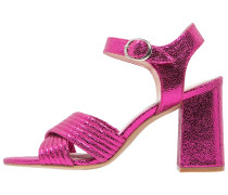 RADIANT Riemensandalette pink